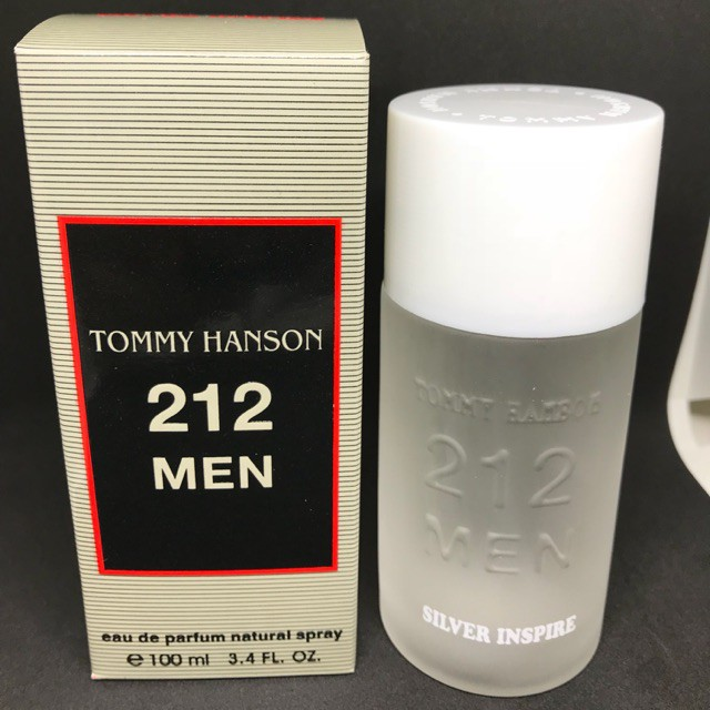 PARFUM PRIA 212 MEN TOMMY HANSON BPOM [ BLACK AMAZING ] Murah | Shopee Indonesia
