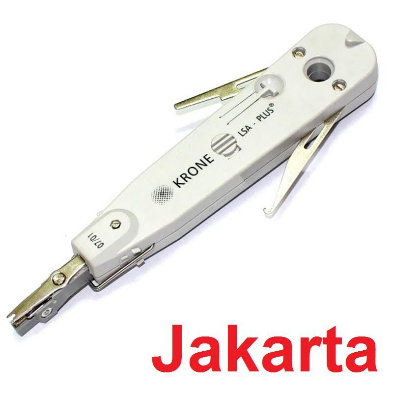 RJ11 RJ45 Insertion Down Network Kit for Krone 110 Lsa-plus Telecom Phone Cable