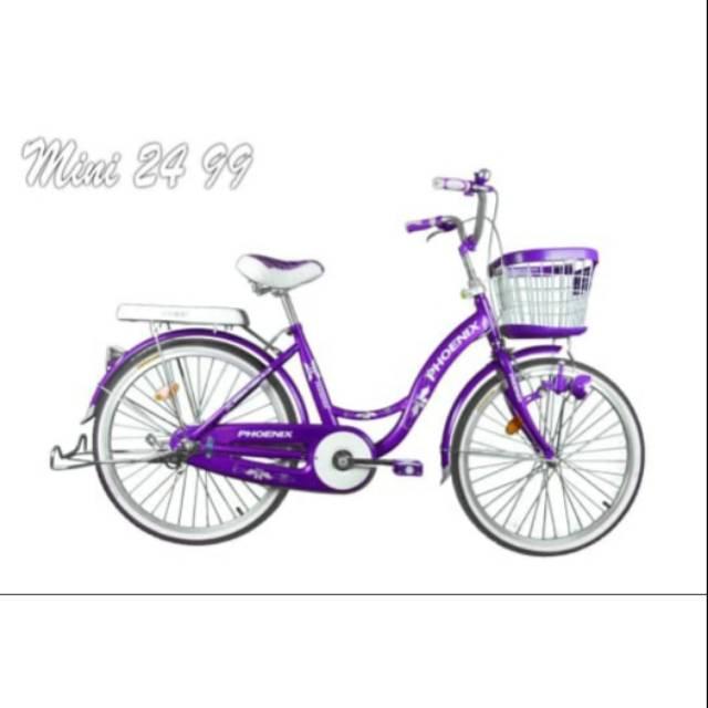 Sepeda Mini Uk 24 Phoenix Asli 99 Shopee Indonesia