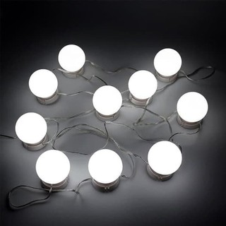 Dijual Vanity Mirror LED Lights 10 bulb, Lampu Bohlam ...