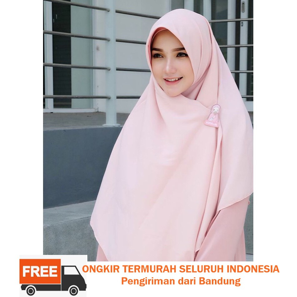 Special Prize Jilbab Segi Empat 130x130 Syari Wolfis Original Hijab  Kawe Super Shopee Indonesia