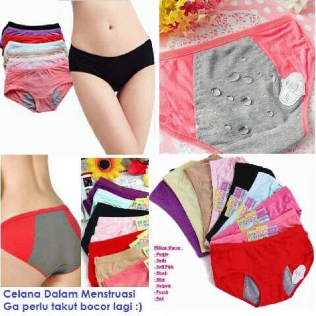 Celana Dalam Menstruasi   Haid   Datang Bulan  8e377b1a8b