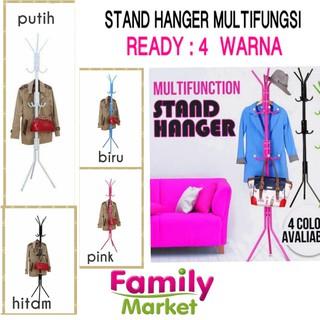 STAND HANGER / Gantungan Berdiri / Hanger Gantungan Baju Tas / Multifunction Standing Hanger [2300