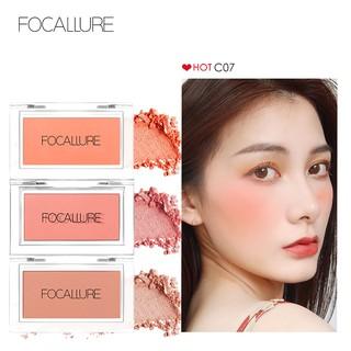 FA77 FOCALLURE Single Flesh Blushes Natural cheek Blush orange blusher thumbnail