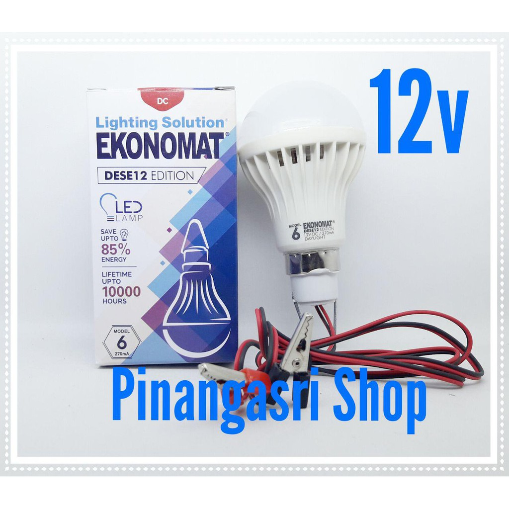 Lampu Led Dc 12v 15w Bohlam Untuk Aki Solar Cell Emergency Mitsuyama Sensor Tepuk 10w Suara