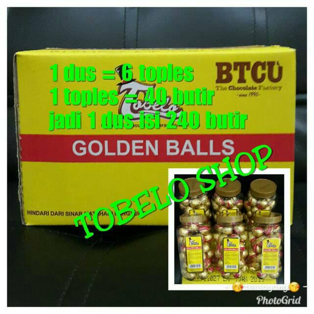GOLDEN BALL Coklat TOBELO GOLDEN BALL