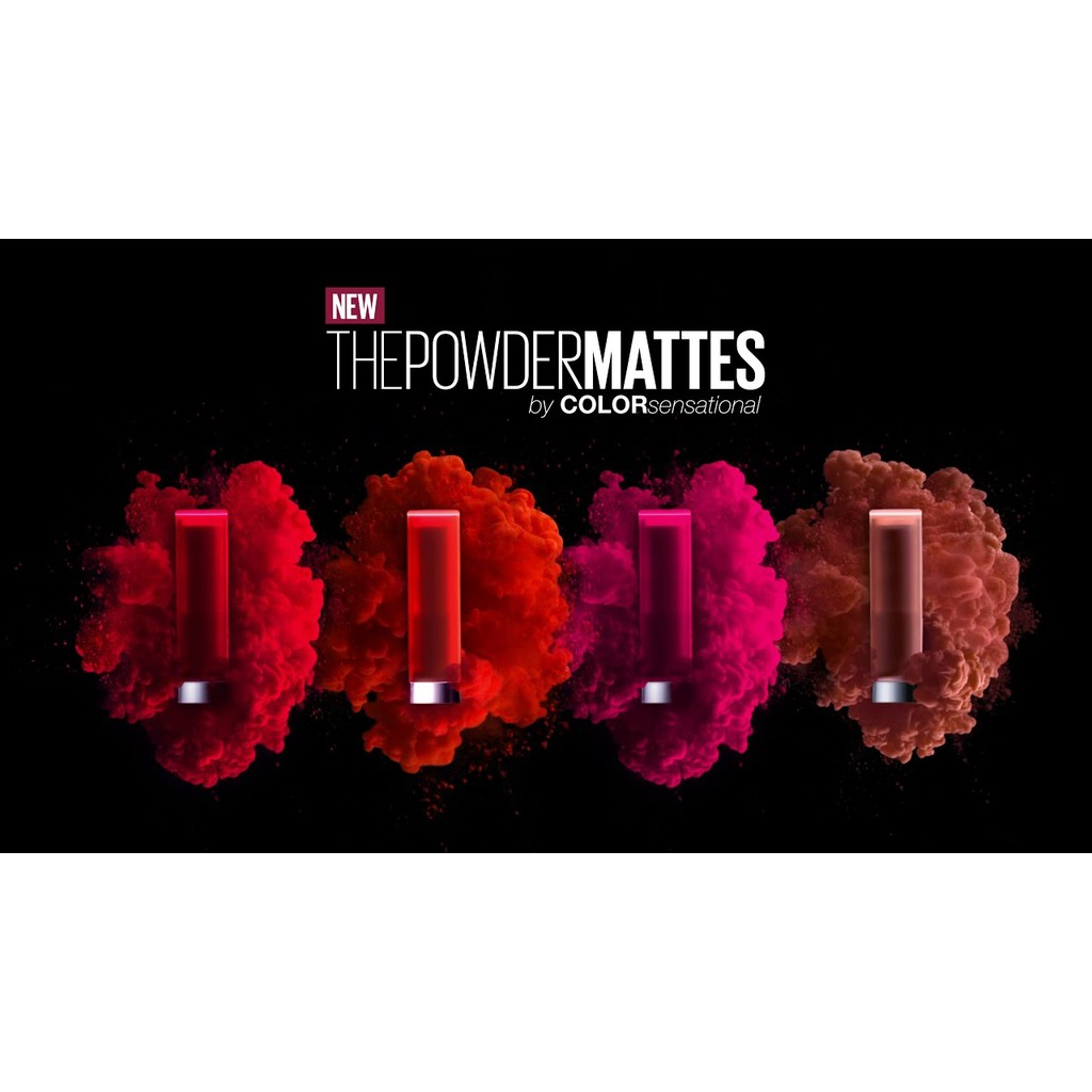 Maybelline Lipstik Matte The Powder Shopee Indonesia Maybellinelipstik