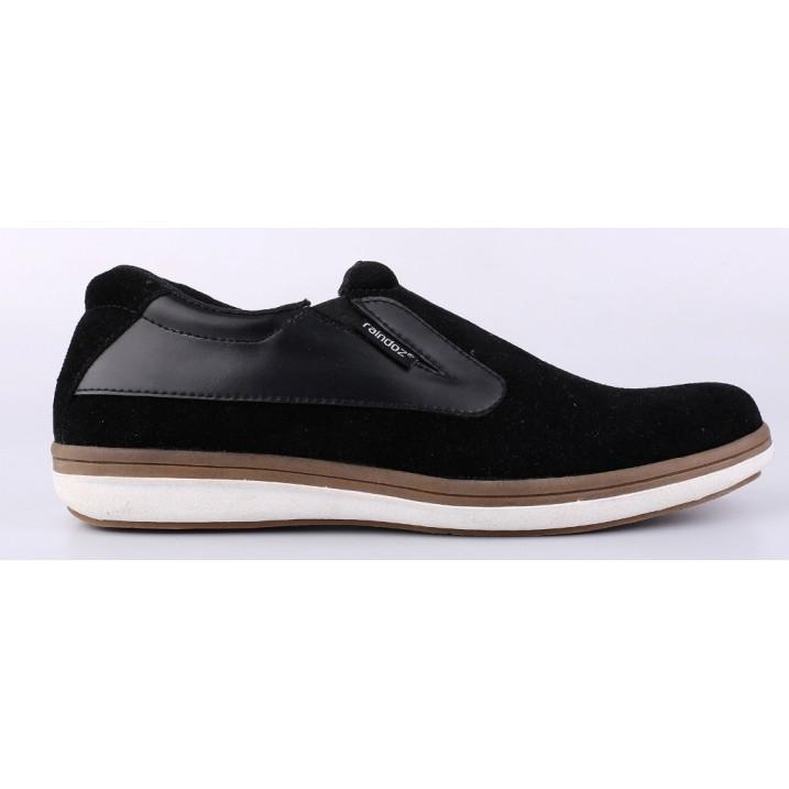 Sepatu kets casual pantopel kulit sintetis original Raindz Bandung Pria  RNT-9 sneakers slip on  5f4f395fe7
