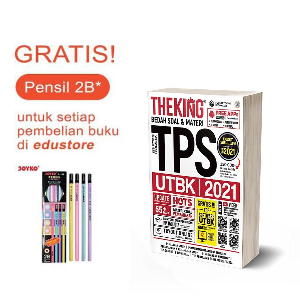 PREORDER BUKU TPS/ THE KING BEDAH SOAL & MATERI TPS UTBK ...