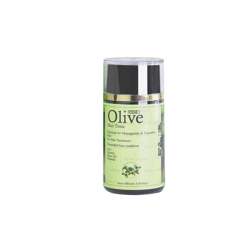 SYB CO.E Olive Hair Treatment - Shampoo Conditioner Tonic Black Kemiri Oil Mask Serum Kids-Olive Hair Tonic