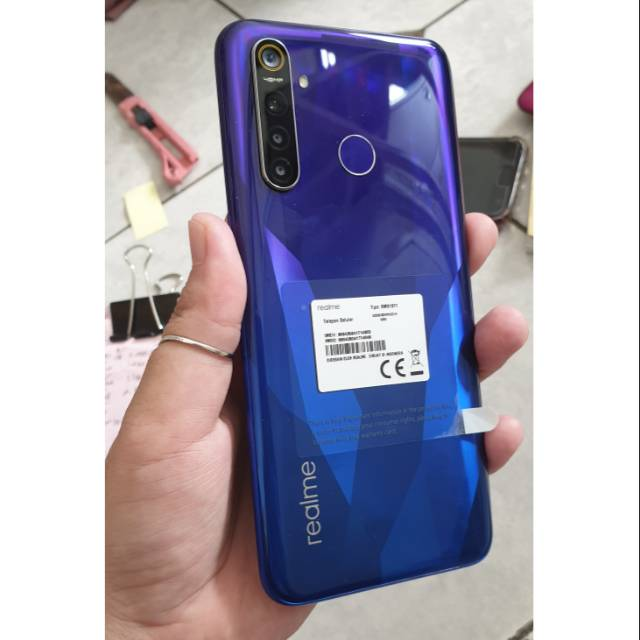 Realme 5 Pro Ram 8 128 Hp Second Shopee Indonesia