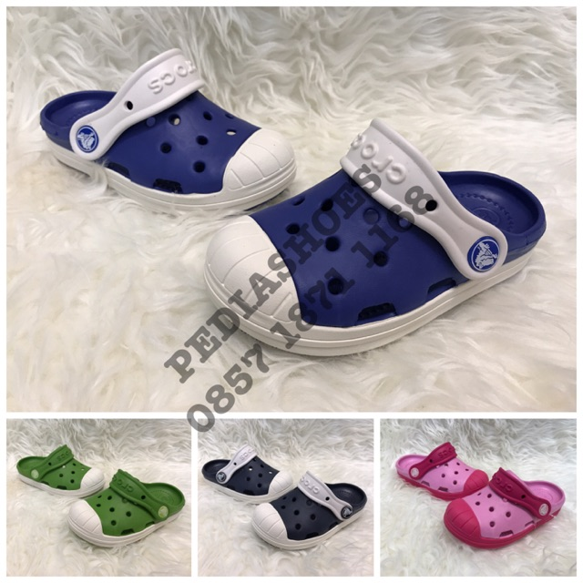 0abebdcef42338 Sepatu Sandal Anak Crocs Little Bump It Original