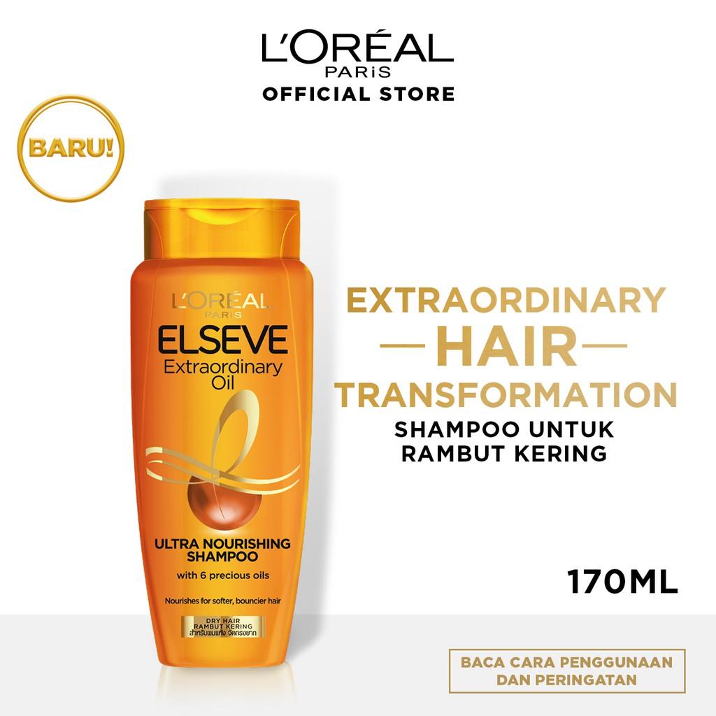 L'Oreal Paris Elseve Extraordinary Oil Ultra Nourishment Shampoo 170ml Hair Care