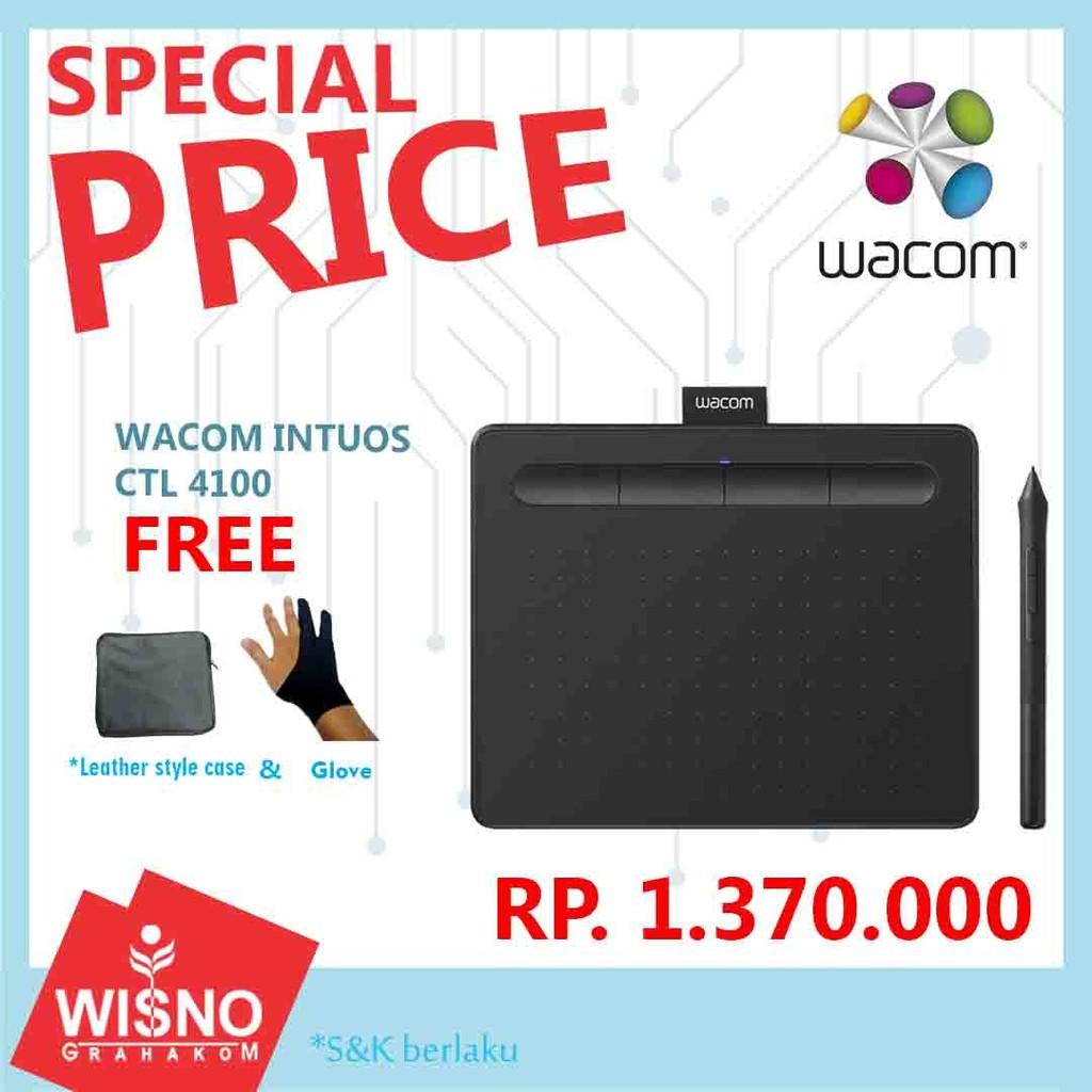 Wacom Intuos Creative Pen Tablet Small CTL 4100 Free Bonus