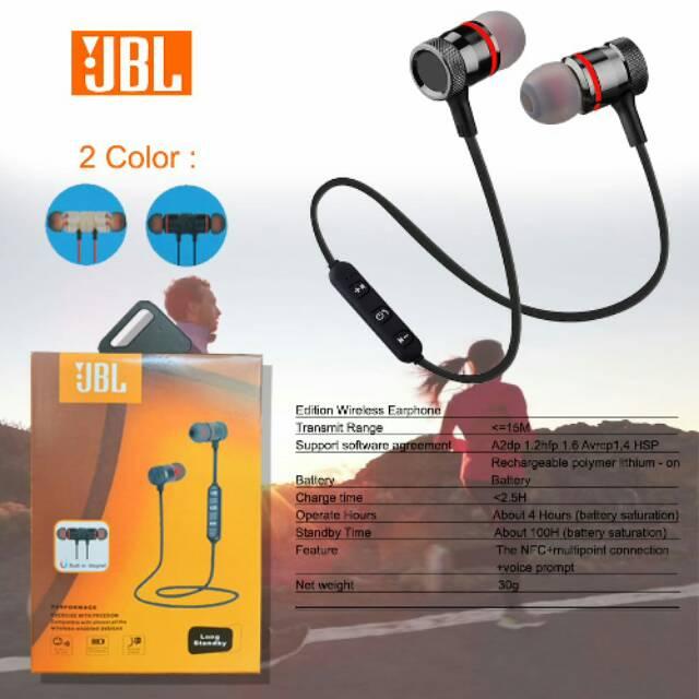 Headset Bluetooth Jbl Magnet Shopee Indonesia