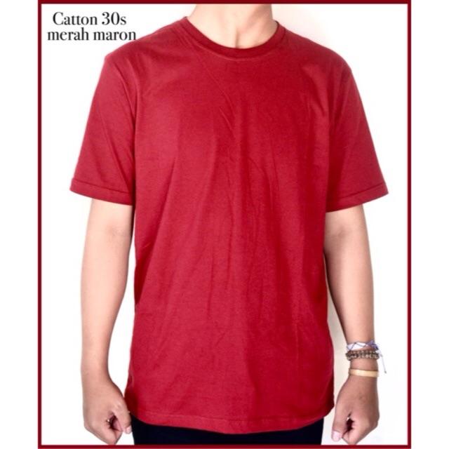 Jual Kaos Polos Baju Kaos Keren Bahan Kaos Cotton Combed 30s Harga