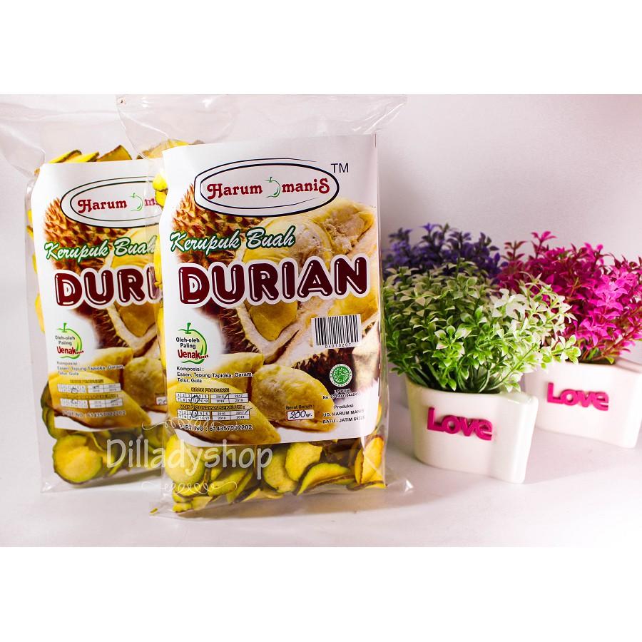 Keripik Buah Durian Shopee Indonesia Fruchips Apel
