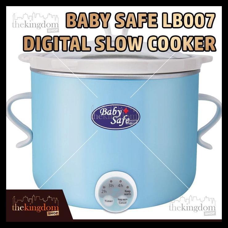Baby Safe LB007 Digital Slow Cooker Alat Memasak Menghangatkan Makanan | Shopee Indonesia