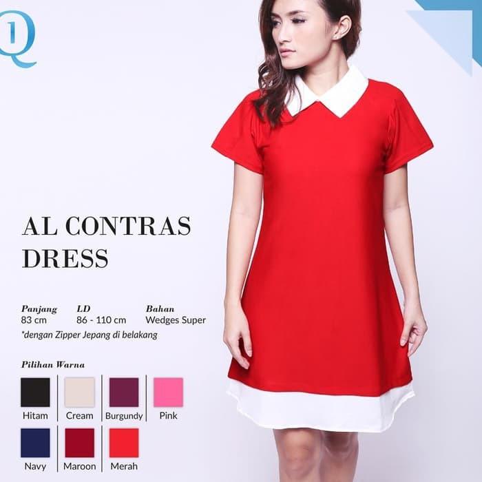 Dapatkan Harga red Pakaian Wanita Diskon  2fd0df6613