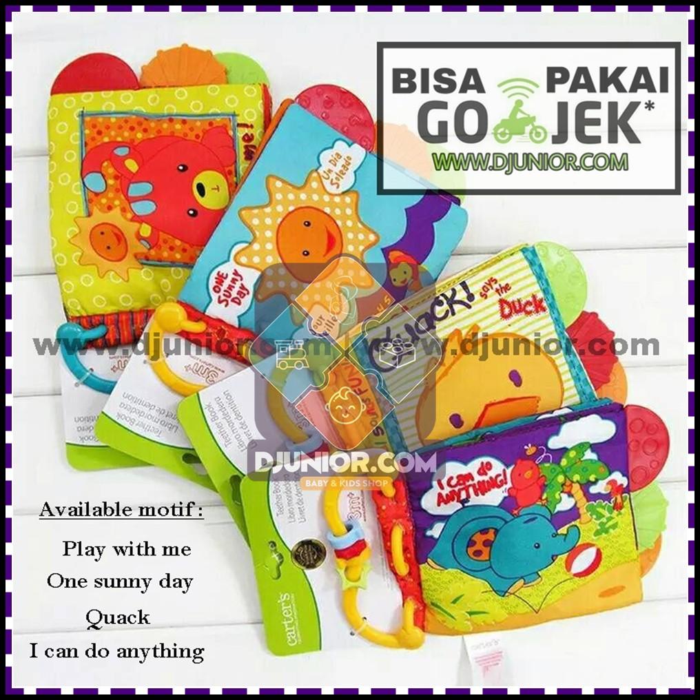 teether book carter mastela buku kain softbook soft book mainan bayi ... 0b64de5c10