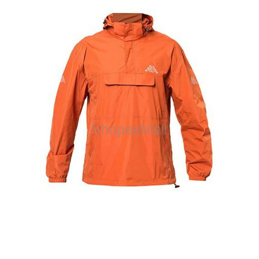 Shopee Hood Orange K11ajk021b With Kappa Indonesia Wind Jacket wqxnHpt8Y
