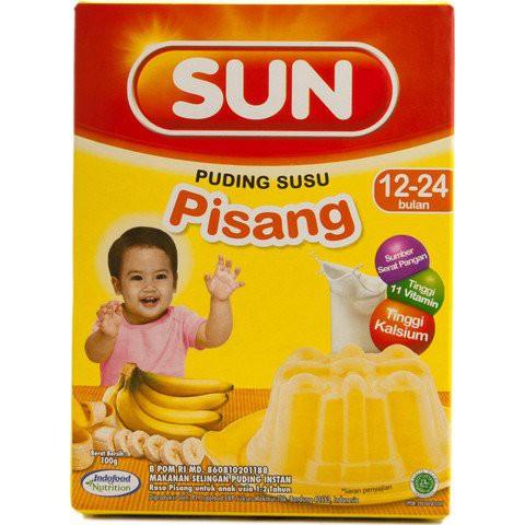 Sun Puding Susu 100gr Bubur Sun Puding Susu Puding Bayi
