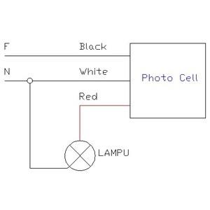 Cara Pasang Sensor Cahaya Photo Cell Foto Sel Saklar Otomatis Lampu Shopee Indonesia