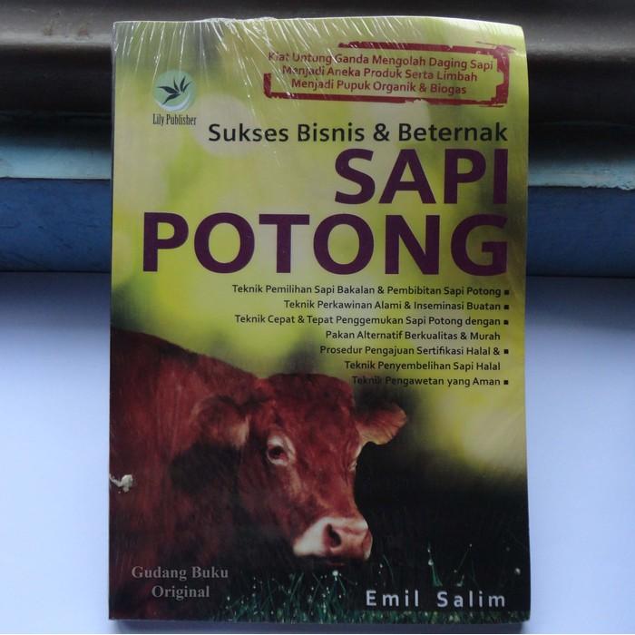 Buku Sukses Bisnis Dan Beternak Sapi Potong Ac1265 Shopee Indonesia