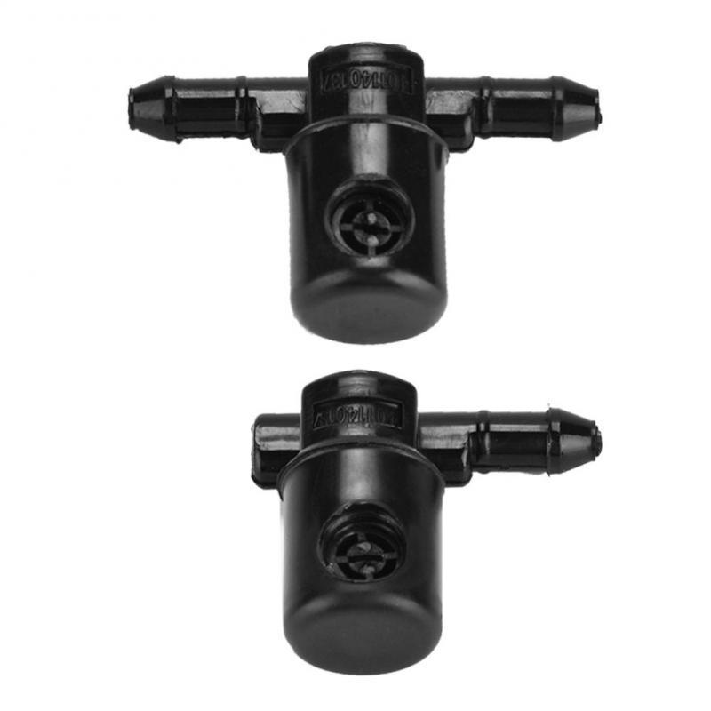 Duokon 2Pcs Car Windshield Wiper Wash Nozzles Windscreen Wiper Washers Nozzles for 12782509