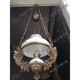 Lampu Hias Gantung Kristal Modern Lighting Ruang Tamu Ct001865