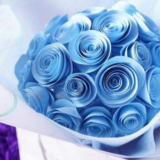 200 Gambar Bunga Biru  Paling Keren