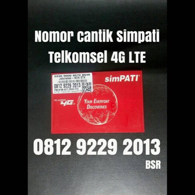 Nomor cantik simpati Telkomsel 4G lte nomer kartu perdana tahun 1991 | Shopee Indonesia