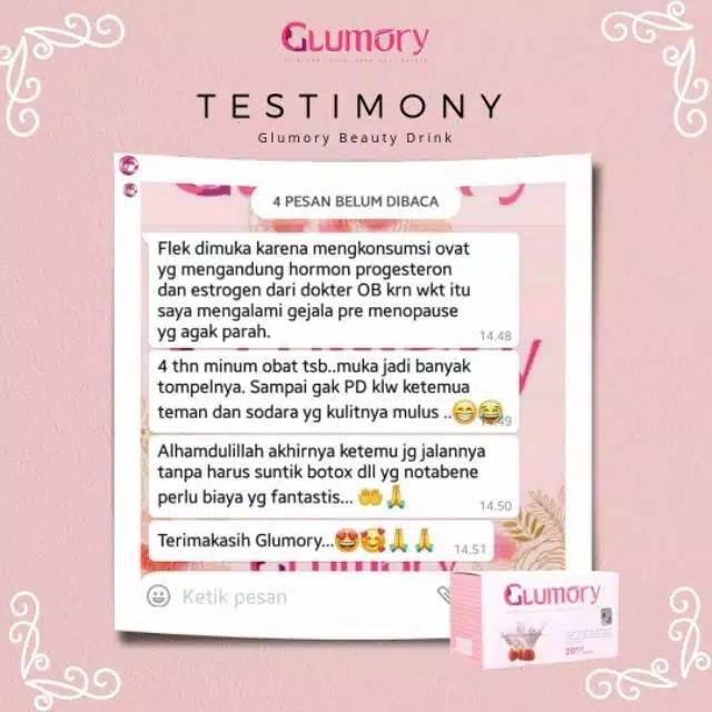 Glumory Suplemen Kecantikan Shopee Indonesia