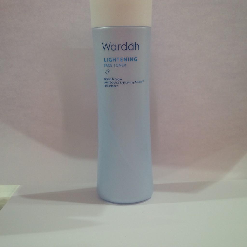 Wardah Lightening Face Toner 150ml Kemasan Baru Shopee Indonesia Mask