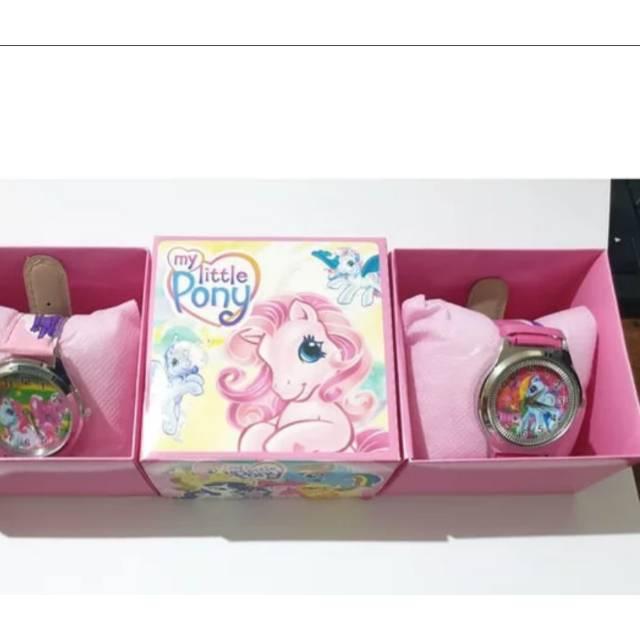Jam Tangan Anak Kuda Poni Warna Pink Shopee Indonesia