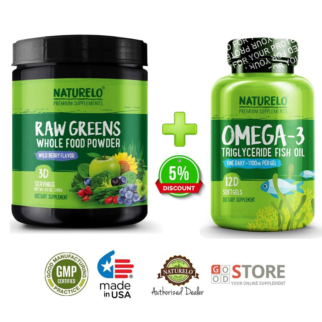 Naturelo Premium Omega 3 Fish Oil 60 Softgels Shopee Indonesia Lifepharm Glomega 30
