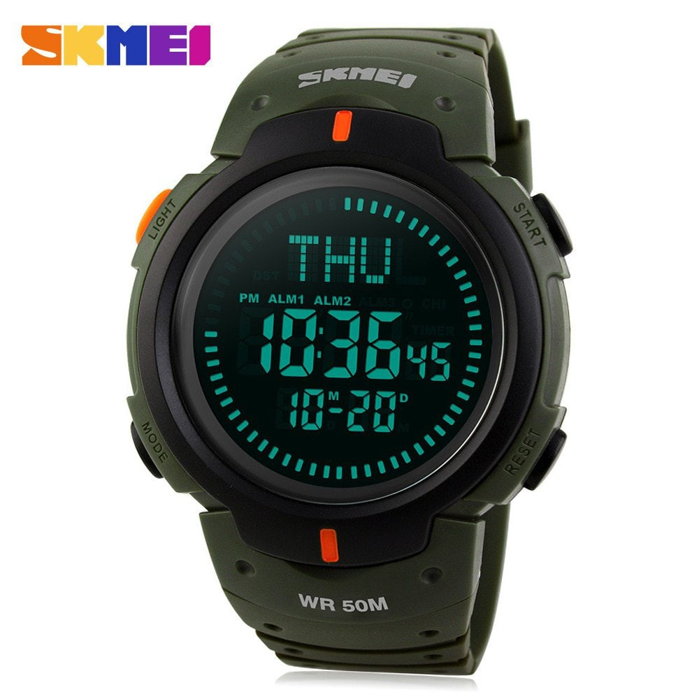 【Skmei Official Store】SKMEI 1215 Jam Tangan Sport Multifungsi untuk Pria | Shopee Indonesia
