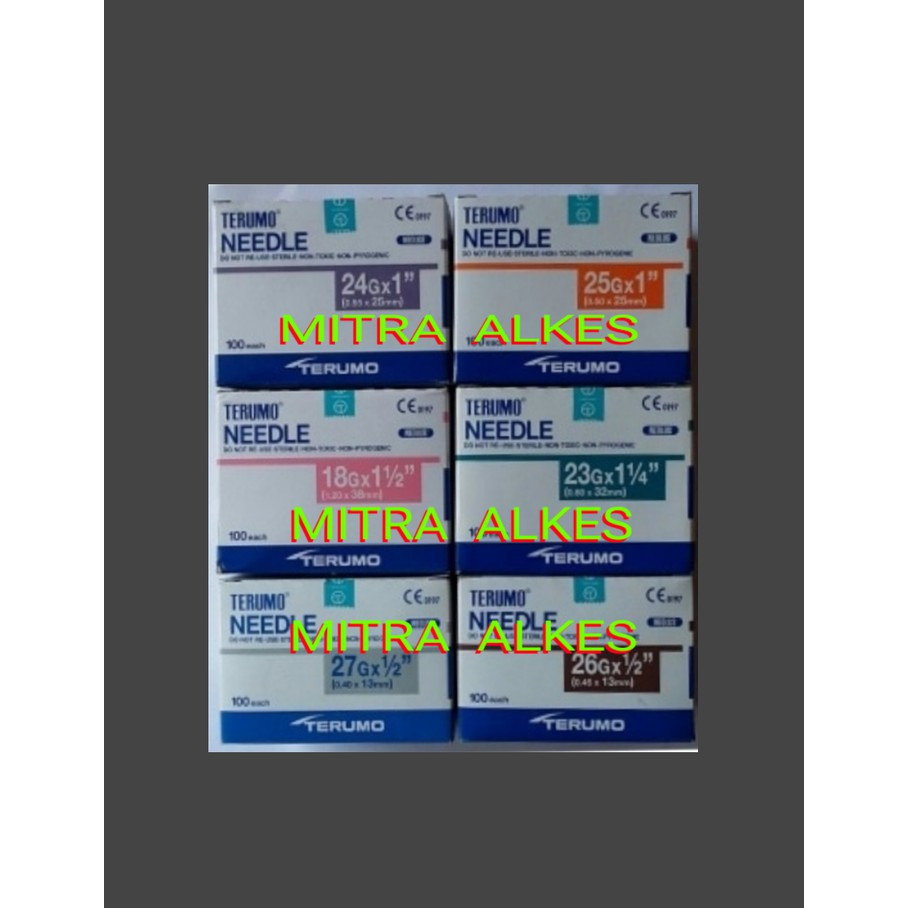 Disposable Needle One Med 19 27 G Onemed Nedle Jarum No Shopee Indonesia