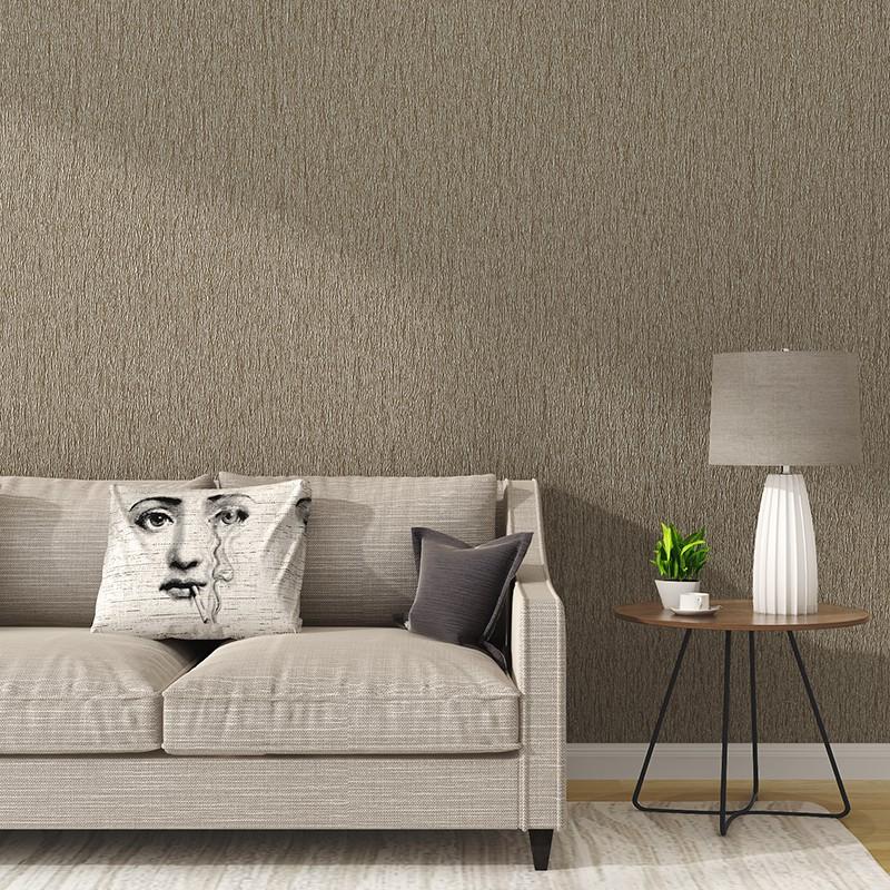 Modern Ruang Tamu Minimalis Warna Murni Wallpaper Kamar Tidur Gaya Eropa Tv Latar Belakang Dinding T Shopee Indonesia