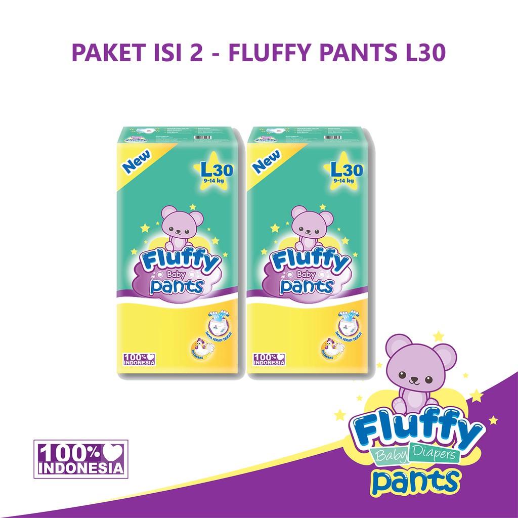 Paket Isi 2 Fluffy Popok Bayi Tipe Celana L30 Shopee Indonesia Goon Smile Baby