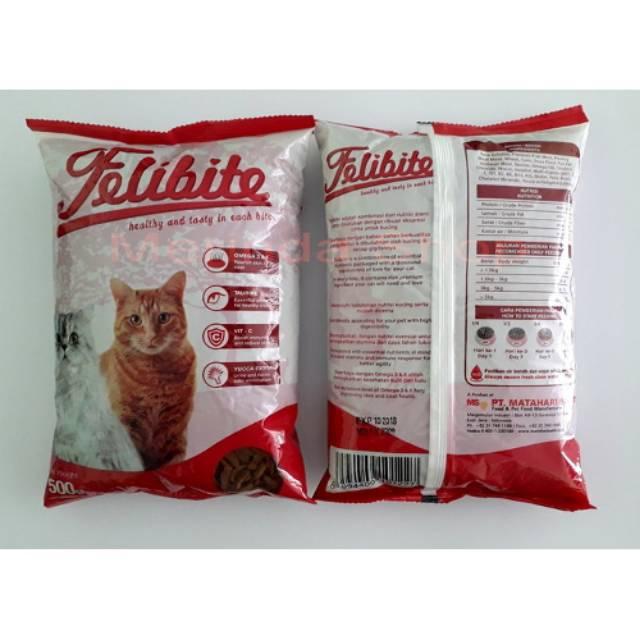 Makanan Kucing Felibite 500gr Shopee Indonesia