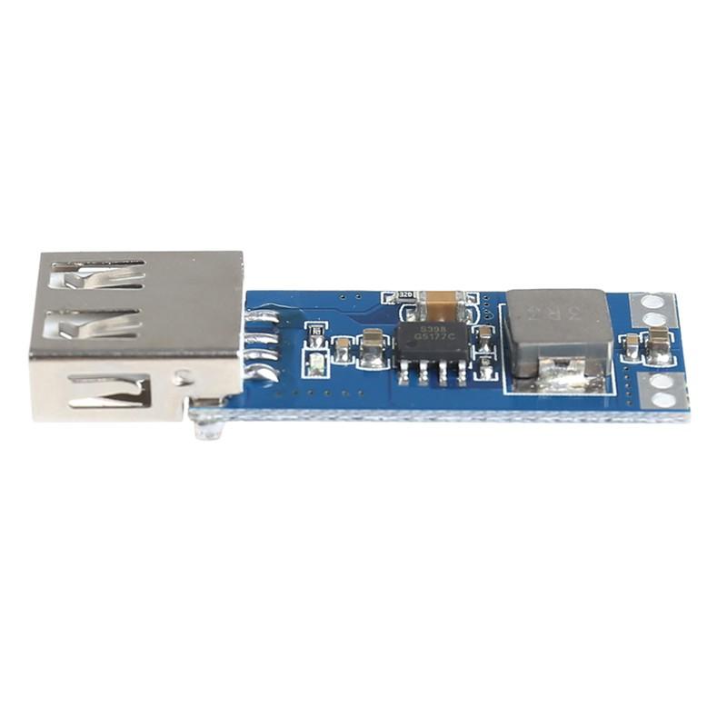 Step Up Power Bank Module Boost Converter Board USB DC-DC 2.5V-5.5V To 5V 1A 2A