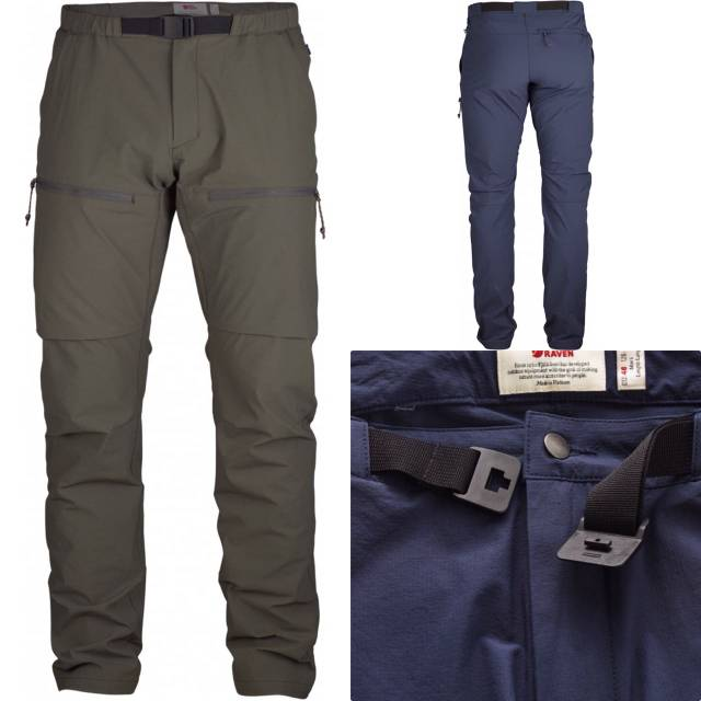 FJ/ÄLLR/ÄVEN Pantalon High Coast Hike Trousers