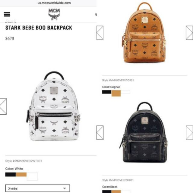 fd76a42ac9a MC M Bebe Boo X-Mini Stark Backpack