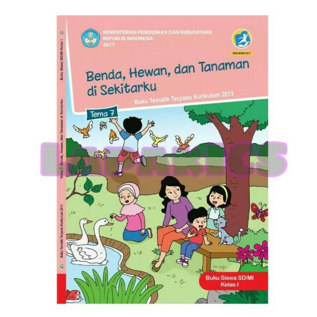 Buku Siswa Kelas 1 Tema 7 Halaman 83 Berbagai Buku