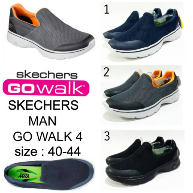 Sepatu skechers Slip on GO WALK 4 sepatu Skechers Woman murah dan terbaru  tali fantasi  ead3b3f541