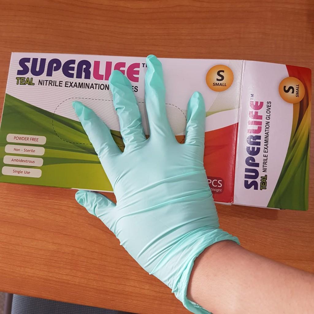 Handscoon Texgrip Size M Nitril Warna Non Powder Sarung Tangan Nitrile Examination Gloves Shopee Indonesia