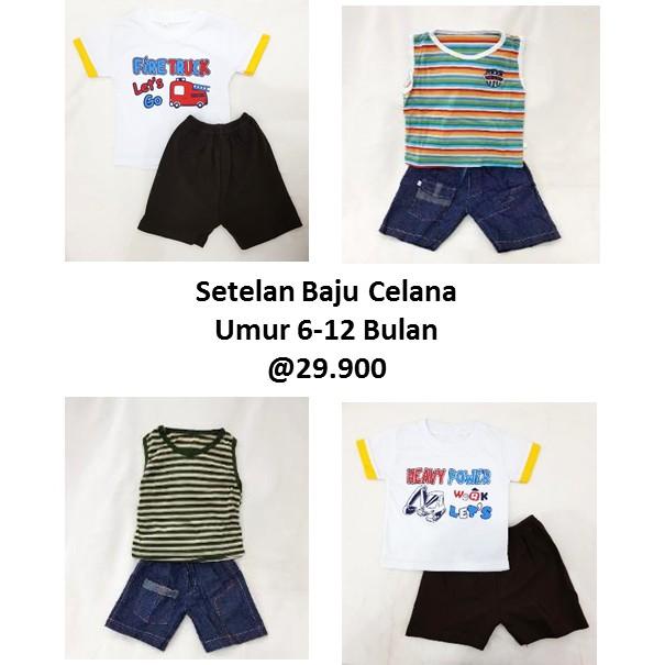 SETELAN 3D ROMPI BERUANG KACAMATA / BAJU BAYI LUCU / BAJU ANAK MOTIF BERUANG | Shopee Indonesia