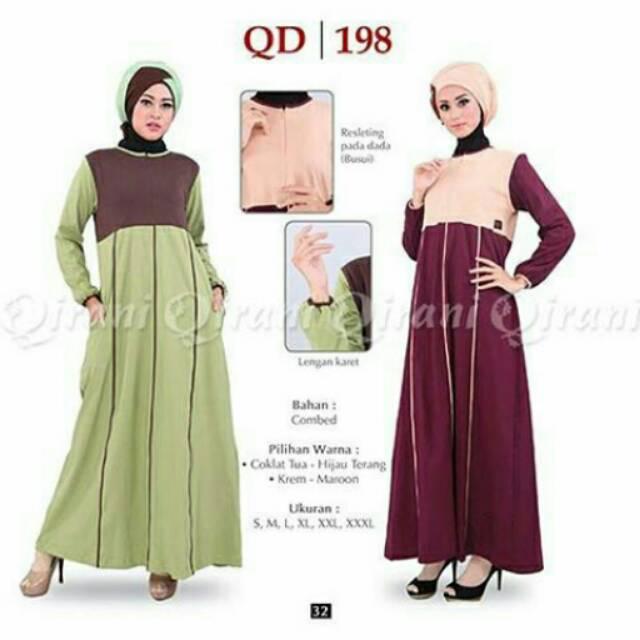 Gamis Qirani Qd 188 Shopee Indonesia