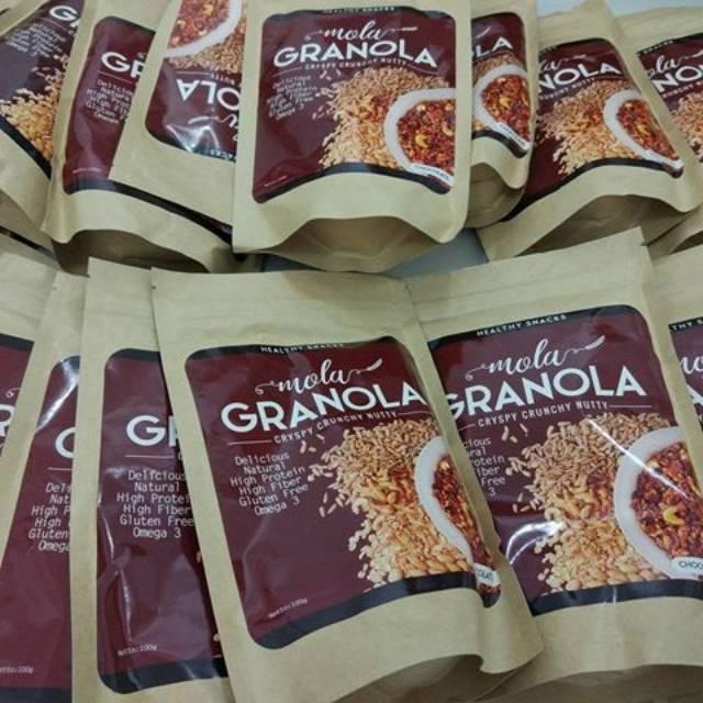 Mola Granola PAKET HEMAT 8 PCS BEBAS PILIH RASA 100% Asli Produksi Terbaru | Shopee